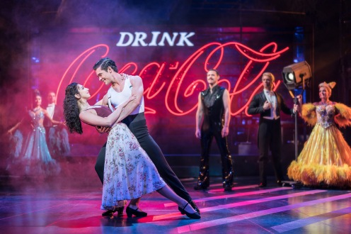 STRICTLY BALLROOM by Luhrmann ; Directed by Drew McOnie ; Designed by Soutra Gilmour ; at the Piccadilly Theatre, London, UK ; March 5 2018 ; Credit : Johan Persson /