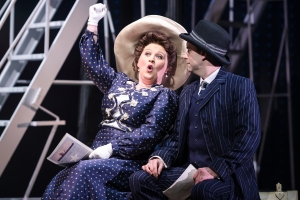 Claire Machin and Timothy Quin in Titanic The Musical. Photo by Scott Rylander 008