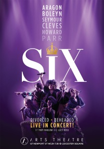 SIX Artys Theatre poster