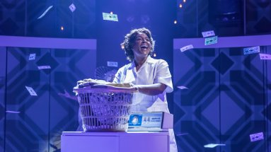 Sharon D Clarke in Chichester Festival Theatre's production of CAROLINE OR CHANGE Photo Marc Brenner