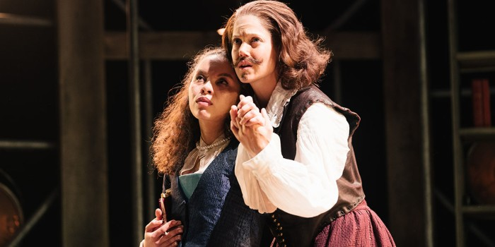 Saffron_Coomber_Emilia_1_and_Charity_Wakefield_William_Shakespere_in_Emilia_at_the_Vaudeville_Theatre._Photo_credit_Helen_Murray._q3paiz