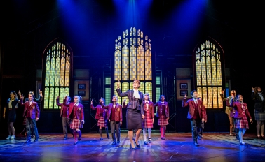A scene from The School Of Rock @ New London Theatre. Recast Dress Rehearsal (Taken 15-11-17) ©Tristram Kenton 11-17 (3 Raveley Street, LONDON NW5 2HX TEL 0207 267 5550 Mob 07973 617 355)email: tristram@tristramkenton.com